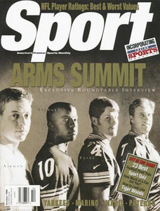 October 1998 Sport Cover (Troy Troy Aikman, Brett Favre, John Elway and Kordell Stewart)