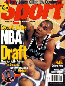 July 1998 Sport Cover (Tim Duncan, San Antonio Spurs)