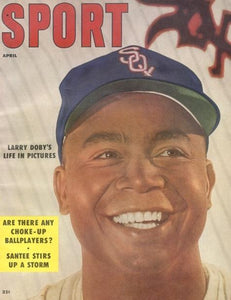 April 1956 Sport Cover (Larry Doby, Chicago White Sox)