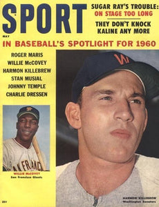 May 1960 Sport Cover (Willie McCovey, San Francisco Giants, Harmon killebrew, Washington Senators)