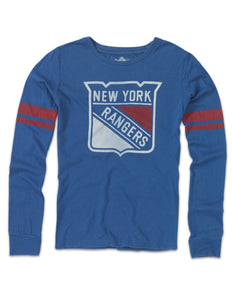 New York Rangers Women's Hawaii Longsleeve