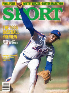 April 1986 Sport Cover (Dwight Gooden, New York Mets)
