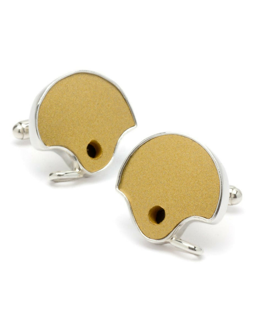 Notre Dame Game-Used Football Helmet Cuff Links