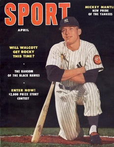 April 1953 Sport Cover (Mickey Mantle, New York Yankees)