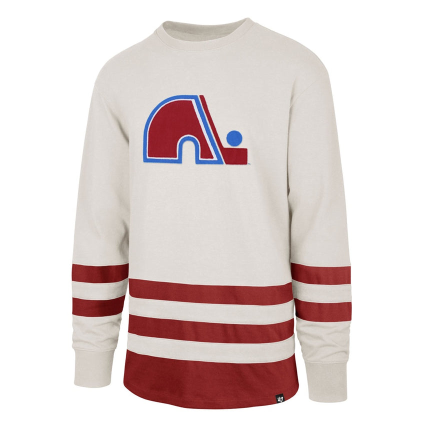 Quebec Nordiques Center Ice Vintage-Inspired Jersey