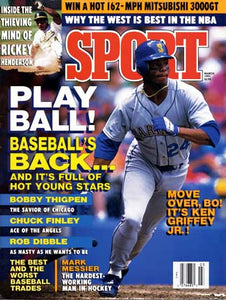 March 1991 Sport Cover (Ken Griffey Jr, Seattle Mariners)