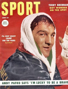 June 1954 Sport Cover (Rocky Marciano, Boxing)