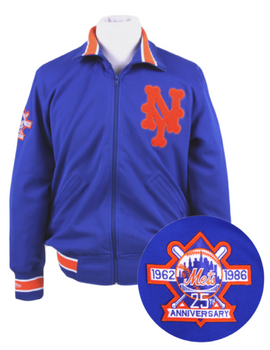 New York Mets Authentic Reproduction 1986 Batting Practice Jacket
