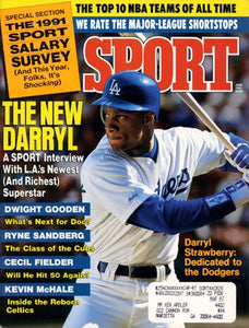 June 1991 Sport Cover (Darryl Strawberry, Los Angeles Dodgers)