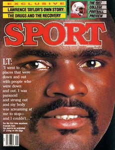 September 1987 Sport Cover (Lawrence Taylor, New York Giants)