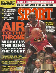 January 1991 Sport Cover (Michael Jordan, Chicago Bulls)