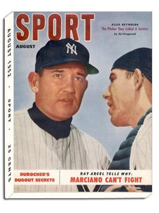 August 1952 Sport Cover (Allie Reynolds, New York Yankees)