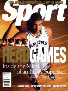 March 1999 Sport Cover (Tim Duncan, San Antonio Spurs)
