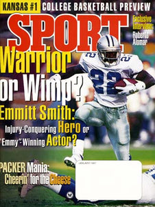 January 1997 Sport Cover (Emmit Smith, Dallas Cowboys)