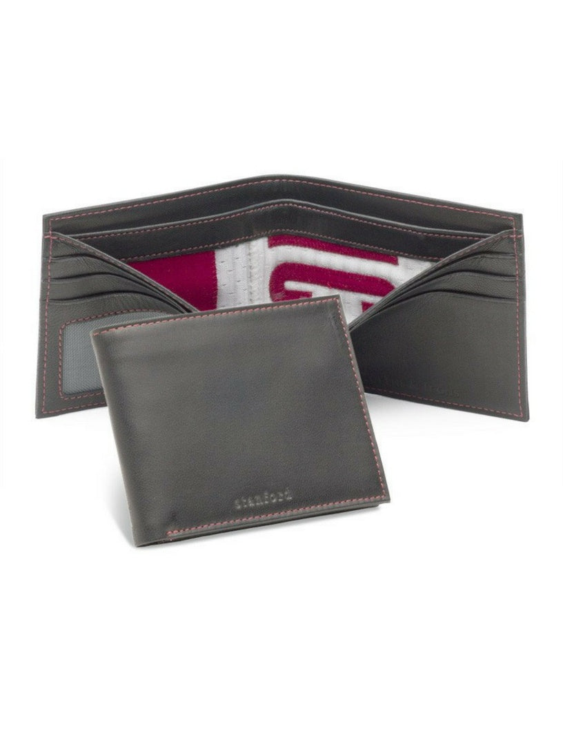Stanford University Game Used Football Uniform Wallet