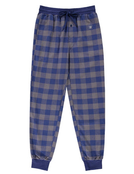 Toronto Maple Leafs (Blue Plaid) Men's Woven Pyjama Pants