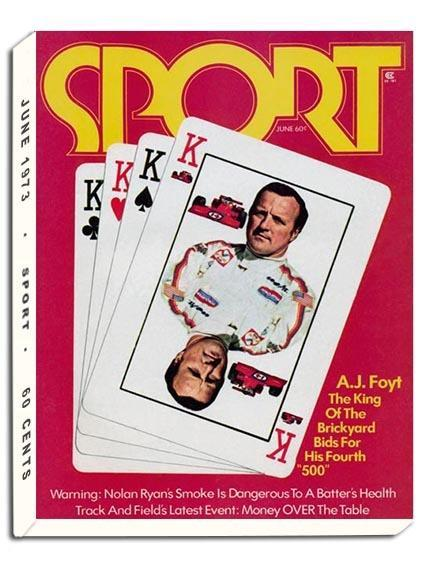 June 1973 Sport Cover (A.J. Foyt)