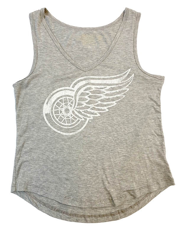 Detroit Red Wings Bella Flowy V-Neck Tank