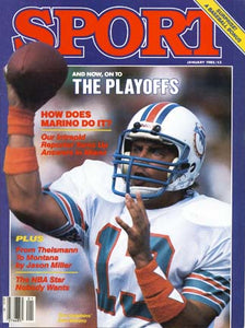 January 1985 Sport Cover (Dan Marino, Miami Dolphins)