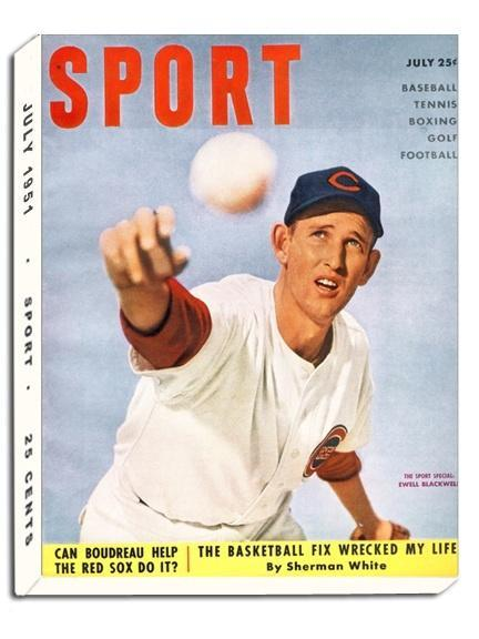 July 1951 Sport Cover (Ewell Blackwell, Cincinnati Reds)