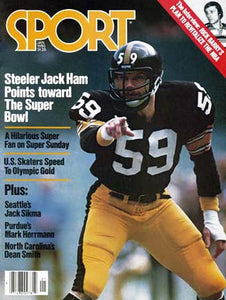 January 1980 Sport Cover (Jack Ham, Pittsburgh Steelers)