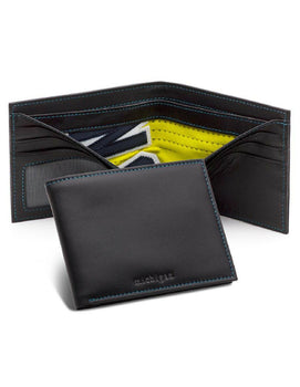University Of Michigan Game Used Basketball Uniform Wallet