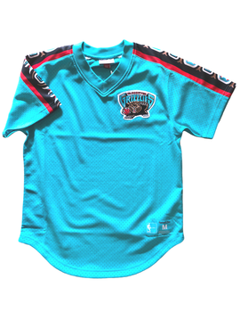 Vancouver Grizzlies NBA Win Mesh V-Neck