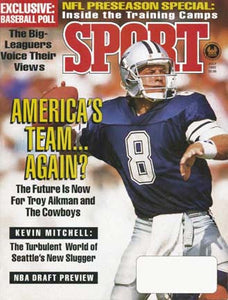 July 1992 Sport Cover (Troy Aikman, Dallas Cowboys)