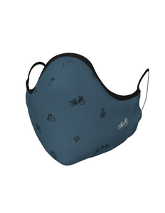 Cycling Face Mask with Filter Pocket
