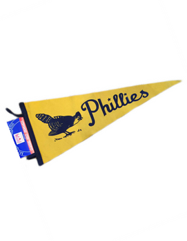 Philadelphia Phillies Pennant (Yellow)