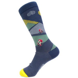 Cycling Mens Dress Socks