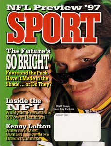 August 1997 Sport Cover (Brett Favre, Green Bay Packers)