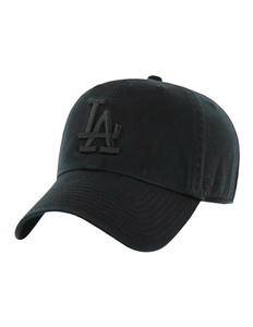 Los Angeles Dodgers All-Black Clean Up Hat