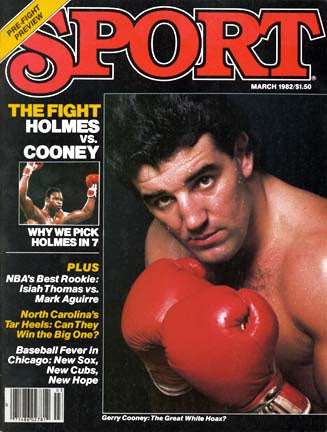 March 1982 Sport Cover (Gerry Coony and Larry Holmes)