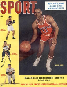 February 1956 Sport Cover (Shihugo Green, Duquesne University)
