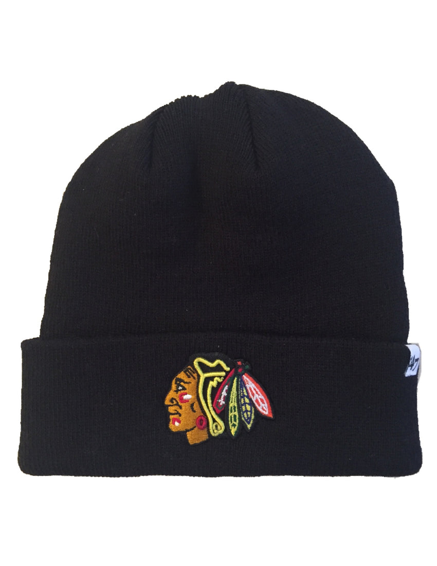 Chicago Blackhawks Raised Cuff Knit Toque
