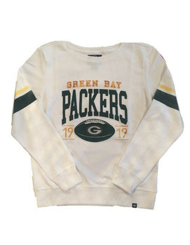 Green Bay Packers Womens NFL Ultra Throwback Crew Sweater