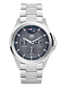 New England Patriots Jack Mason Men's Silver Multifunction Watch