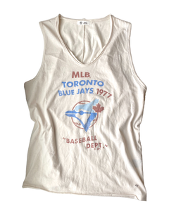 Toronto Blue Jays Women's Retro Letter Tank