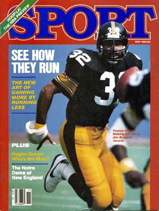 November 1983 Sport Cover (Franco Harris, Pittsburgh Steelers)