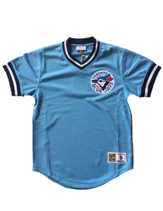 Toronto Blue Jays Mesh Retro Throwback Jersey