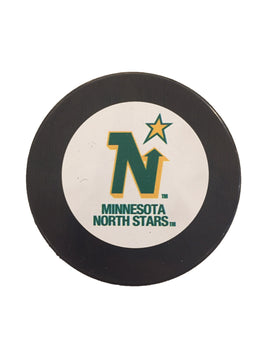Minnesota North Stars Vintage Hockey Puck