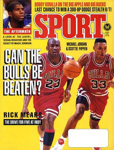 June 1992 Sport Cover (Michael Jordan, Scottie Pippen, Chicago Bulls)