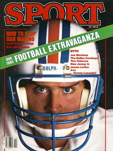 October 1985 Sport Cover (Dan Marino, Miami Dolphins)