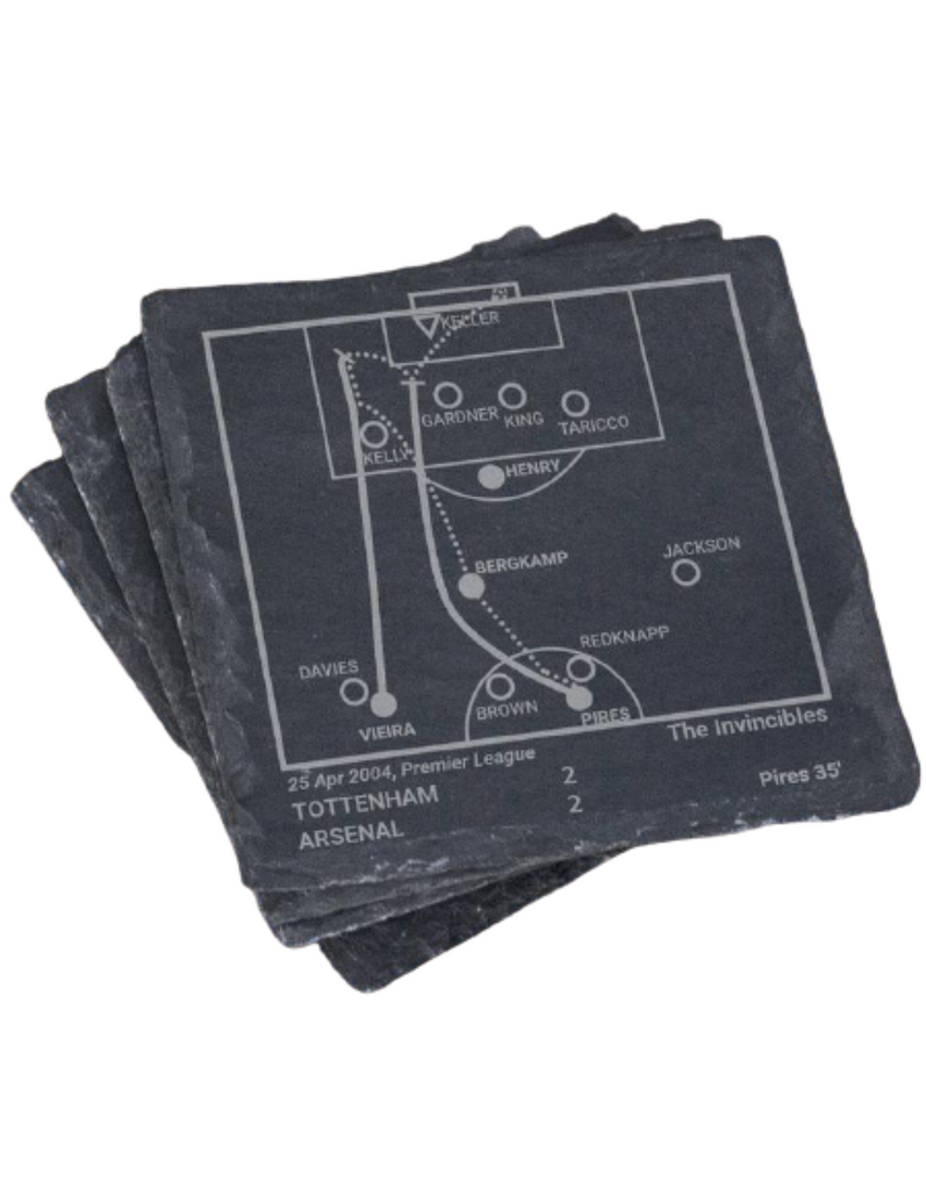 Arsenal F.C. Vintage Greatest Plays in Sports Coasters