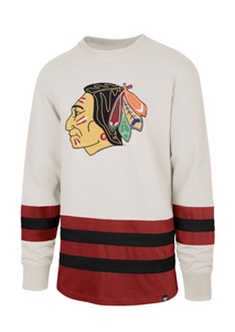 Chicago Blackhawks Center Ice Vintage-Inspired Jersey