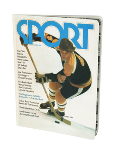 Bobby Orr April 1971 Sport Notebook