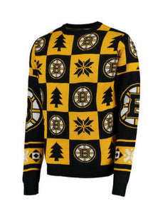 Boston Bruins NHL Patchwork Sweater