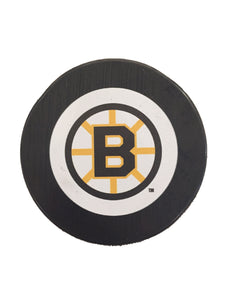 Boston Bruins Vintage Hockey Puck