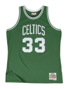 Boston Celtics Larry Bird 1985-86 Swingman Jersey